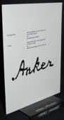 Albert Anker, Verzeichnis der Gemaelde und der Aquarelle