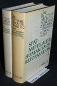Heger, Spaetmittelalter, Humanismus, Reformation