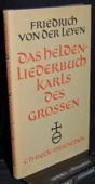 Leyen, Das Heldenliederbuch Karls des Grossen