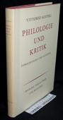 Santoli, Philologie und Kritik