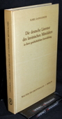 Langosch, Die deutsche Literatur des lateinischen Mittelalters