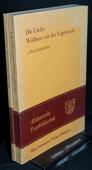 Walther von der Vogelweide, Die Lieder