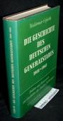 Erfurth, Die Geschichte des deutschen Generalstabes