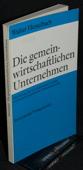 Hesselbach, Die gemeinwirtschaftlichen Unternehmen