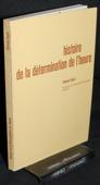 Guyot, Histoire de la determination de l'heure