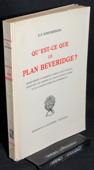 Rimensberger, Qu'est-ce que le plan Beveridge?