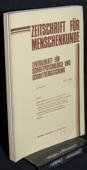 Zeitschrift fuer Menschenkunde, ZfM 1980