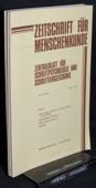 Zeitschrift fuer Menschenkunde, ZfM 1981