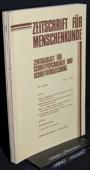 Zeitschrift fuer Menschenkunde, ZfM 1982