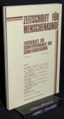 Zeitschrift fuer Menschenkunde, ZfM 1984