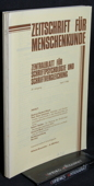Zeitschrift fuer Menschenkunde, ZfM 1985