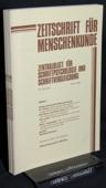 Zeitschrift fuer Menschenkunde, ZfM 1986