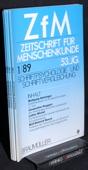 Zeitschrift fuer Menschenkunde, ZfM 1989