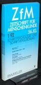 Zeitschrift fuer Menschenkunde, ZfM 1992
