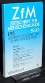 Zeitschrift fuer Menschenkunde, ZfM 1995