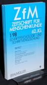Zeitschrift fuer Menschenkunde, ZfM 1998