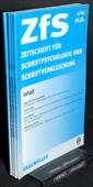 Zeitschrift fuer Schriftpsychologie, ZfS 2002