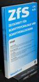Zeitschrift fuer Schriftpsychologie, ZfS 2003