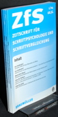 Zeitschrift fuer Schriftpsychologie, ZfS 2004