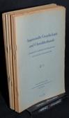 Angewandte Graphologie und Charakterkunde, AGC 1953-1957