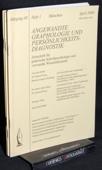 Angewandte Graphologie und Persoenlichkeitsdiagnostik, AGP 2000