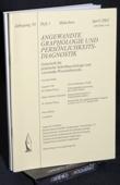 Angewandte Graphologie und Persoenlichkeitsdiagnostik, AGP 2002