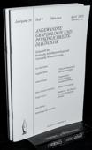 Angewandte Graphologie und Persoenlichkeitsdiagnostik, AGP 2010
