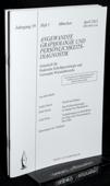 Angewandte Graphologie und Persoenlichkeitsdiagnostik, AGP 2011