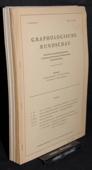 Graphologische, Rundschau 1968-1971
