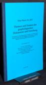 Buser, Themen und Formen der graphologischen Diskussion und Forschung