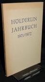Hoelderlin-Jahrbuch, 17. Band 1971/1972