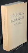 Hoelderlin-Jahrbuch, 19./20. Band 1975-1977
