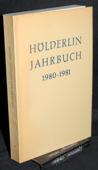 Hoelderlin-Jahrbuch, 22. Band 1980-1981