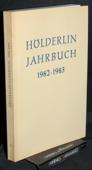 Hoelderlin-Jahrbuch, 23. Band 1982-1983