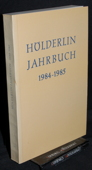 Hoelderlin-Jahrbuch, 24. Band 1984-1985
