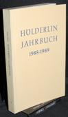 Hoelderlin-Jahrbuch, 26. Band 1988-1989