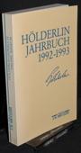 Hoelderlin-Jahrbuch, 28. Band 1992-1993