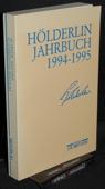 Hoelderlin-Jahrbuch, 29. Band 1994-1995