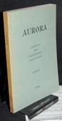 Aurora, Eichendorff-Almanach 36