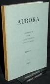 Aurora, Eichendorff-Almanach 37