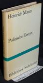 Mann, Politische Essays