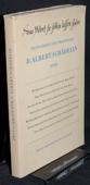 Festschrift, Albert Schaedelin