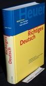 Heuer, Richtiges Deutsch
