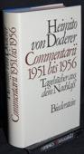 Doderer, Commentarii 1951 bis 1956