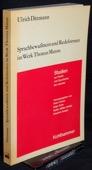 Dittmann, Sprachbewusstsein und Redeformen