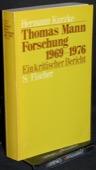 Kurzke, Thomas-Mann-Forschung 1969-1976