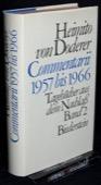 Doderer, Commentarii 1957 bis 1966