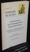 Fontane-Blaetter, Sonderheft 2/ 1969
