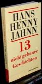 Jahnn, 13 nicht geheure Geschichten