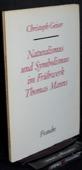 Geiser, Fruehwerk Thomas Manns